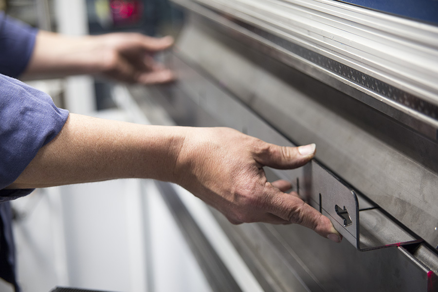 Bending with the Press Brake at Superior Cutting Service