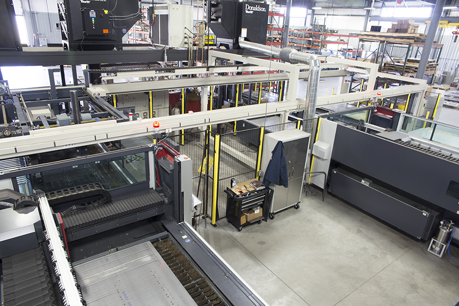 Mitsubishi CO2 Laser Cutting Machine at Superior Cutting Service
